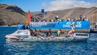 Fight Oar Die: Meet The Four US Military Vets Rowing Across The Ocean In The Talisker Whisky Atlantic Challenge