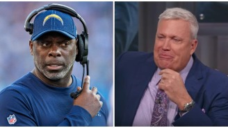 Rex Ryan Breaks Down In Tears After Powerful 'Sunday NFL Countdown' Segment About Chargers Coach Anthony Lynn