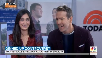 Ryan Reynolds Met The 'Peloton Wife' For The First Time, She Jokingly Takes Blame For Ad Controversy