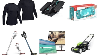Deals Week: Under Armour ColdGear Base Layers, Nintendo Switch Lite, Under Desk Elliptical, Coffee