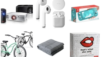 Woot Daily Deals: Airbuds, Cruiser Bikes, Weighted Blankets, Nintendo Switch Lite, And More!