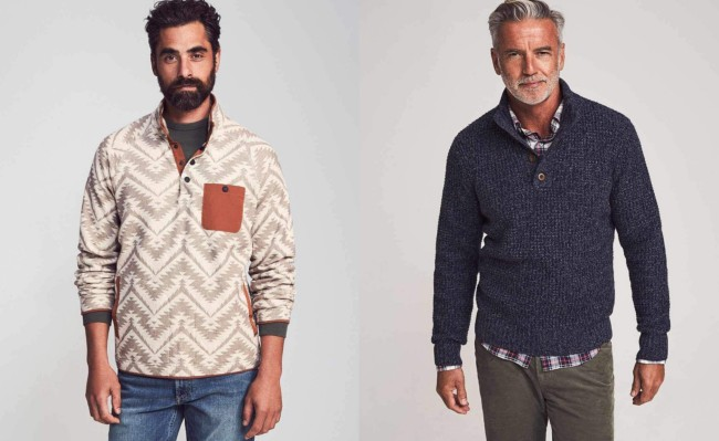 Faherty Brand sweaters