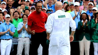 How Much Would You Pay To Drink Beers With Tiger Woods And His Caddie While Watching His 2019 Masters Win?