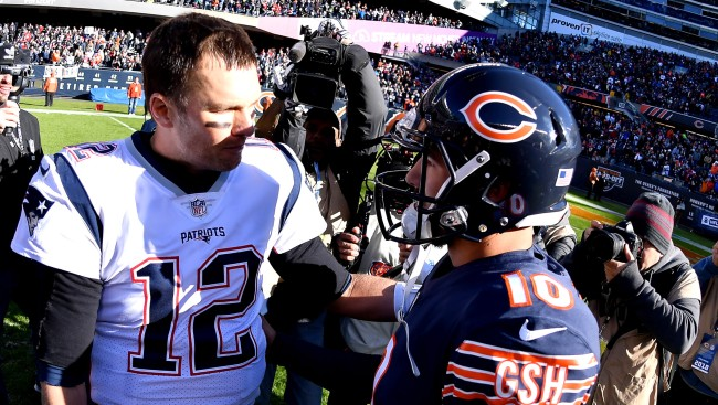 Tom Bradys Stats Have Been Worse Than Mitch Trubisky Since Week 4