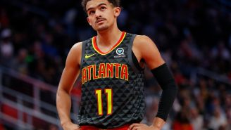 Jimmy Butler Clowned Trae Young For Saying 'It's Over' Right Before The Hawks Blew A Lead And Ended Up Losing By 14 Points