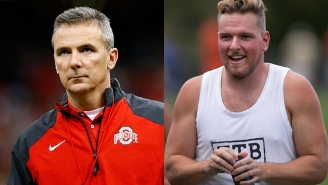 Pat McAfee Took A Hilarious Shot At Urban Meyer After Being Criticized For…Having Too Much Fun?
