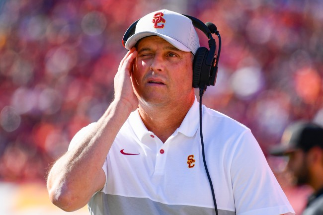 USC Football has really bad recruiting rankings right now, and college football fans can't believe it.