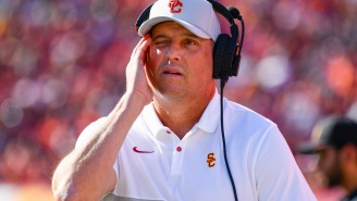 Clay Helton Says 'We Had A Very Good Day Today' After USC Had A Hilariously Bad Early Signing Day According To Recruiting Rankings