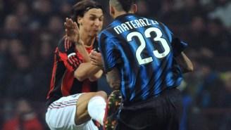 Zlatan Ibrahimović Planned 'Taekwondo' Kick On Legendary Italian Defender For 4 Years