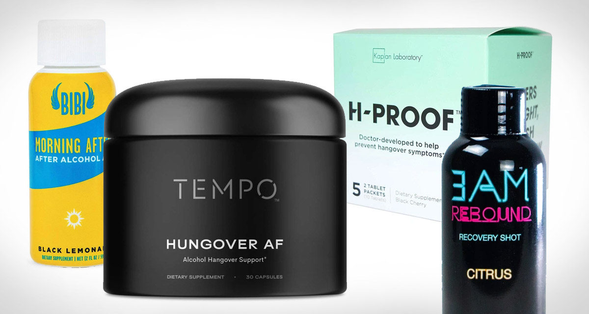 The best hangover supplements to make your next morning easier
