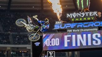 Justin 'Bam Bam' Barcia Battles For Back-To-Back Monster Energy Supercross Wins In Anaheim