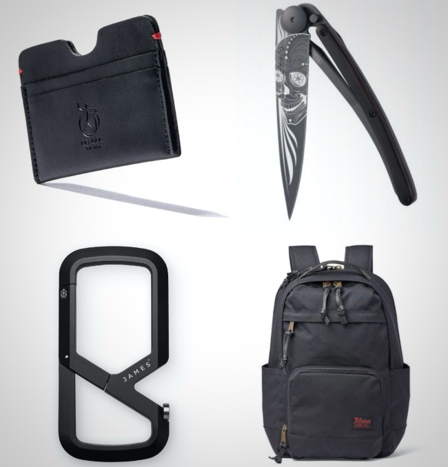 all black everyday carry gear best of 2020