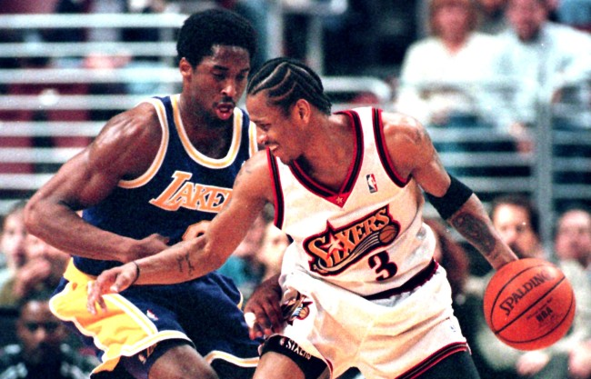 Allen Iverson Shares Kobe Bryant Story From Their 1996 Rookie Season