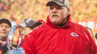 Andy Reid Celebrated Winning The AFC Championship In The Most Andy Reid Way Imaginable