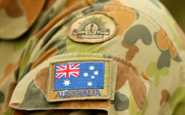 australian navy deliver beer fires