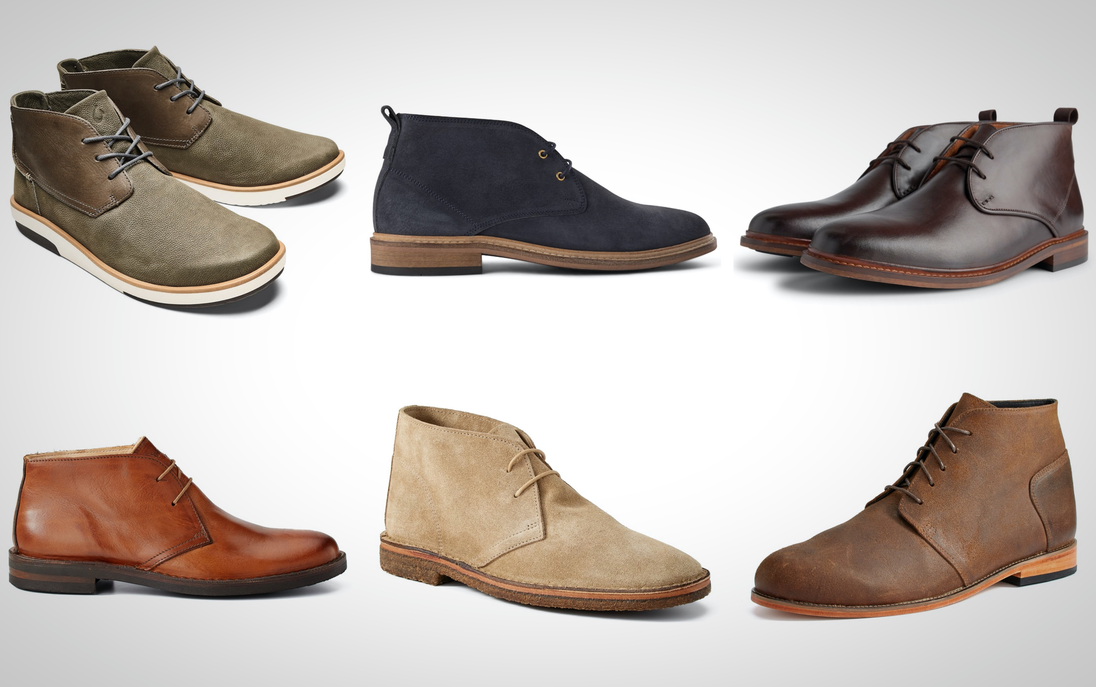 6 Of My Favorite Leather Chukka Boots