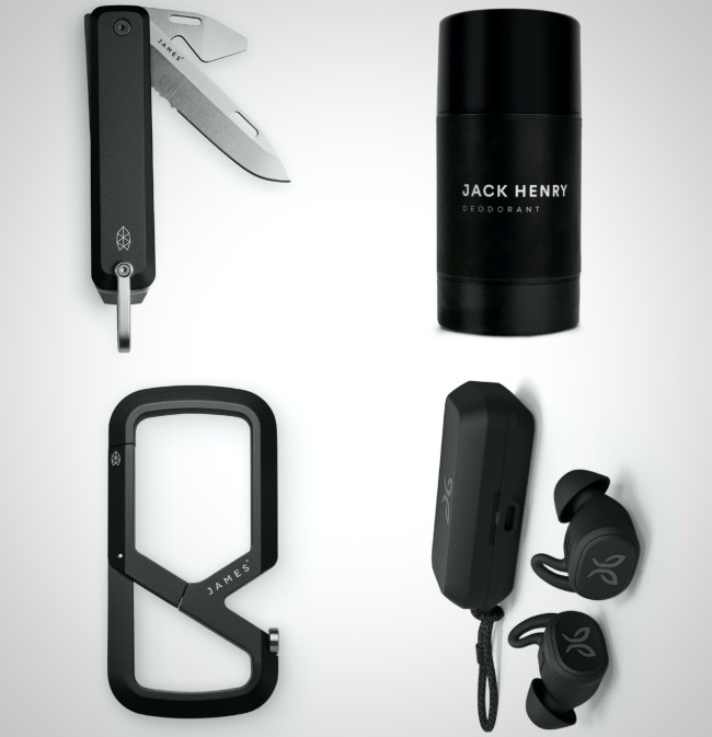 all black every day carry items best for men