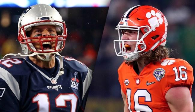Boston Sportswriter Thinks Patriots Should Tank For Trevor Lawrence