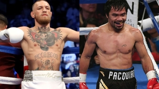 Conor McGregor Is Now Angling For A Fight With Manny Pacquiao After Getting Dominated In His Last Boxing Match