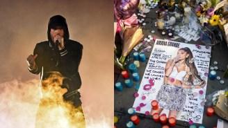 Eminem Raps About Ariana Grande Concert Bombing On Surprise New Album