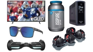 Daily Deals: 82-Inch TVs, Weight Sets, Protein Powders, Refrigerators, Segways, Allen Edmonds Boots Sale And More!