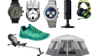 Daily Deals: Streaming Microphones, 7.1 Surround Sound Headsets, Rowers, $500 65-Inch TV, $69 Jordans, Breitling Watches