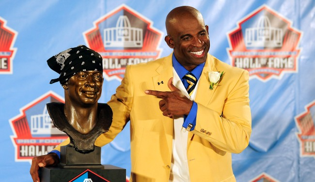 Deion Sanders Says Too Many Players Are Getting Into The Hall Of Fame