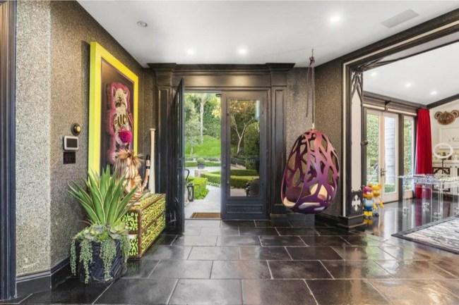 dr phil mansion interior