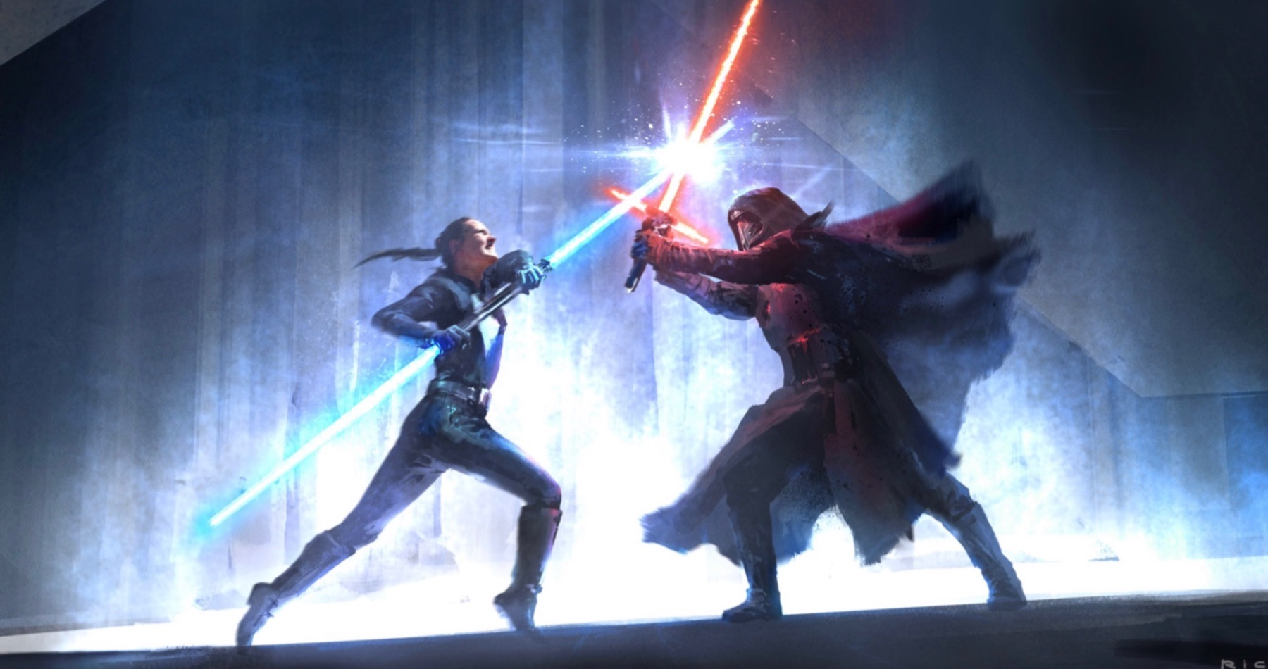 Insane Rise Of Skywalker Concept Art Reveals Darth Vader Wildly Different Looking Story Brobible