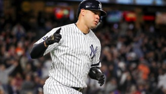 Yankees' All-Star Gary Sanchez Is Ripped AF After (Seemingly) Spending The Offseason Training Like A Superhero
