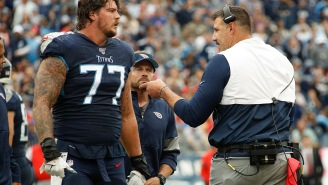 Taylor Lewan Reminds Mike Vrabel That He Said He Would Cut Off His Genitals For A Super Bowl After Titans Beat Ravens