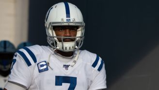Colts GM Says 'The Jury Is Still Out' On Jacoby Brissett Being The Team's Starting QB Next Season