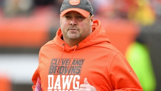 The NY Giants Are Interviewing Former Browns Head Coach Freddie Kitchens For Offensive Coordinator Job