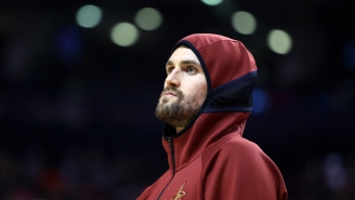 Kevin Love Says He Was 'Acting Like A 13-Year-Old' During A Series Of On-Court Tantrums Fueled By The Cavaliers' Incompetence