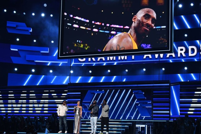 Hours after his death, Kobe Bryant is honored at the 2020 Grammy's with performances by Alicia Keys, Boyz II Men and Lizzo.