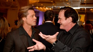 Brad Pitt Hilariously Roasts Quentin Tarantino At Awards Show, Says He's 'The Only Guy I Know Who Needs Cocaine To Stop Talking'