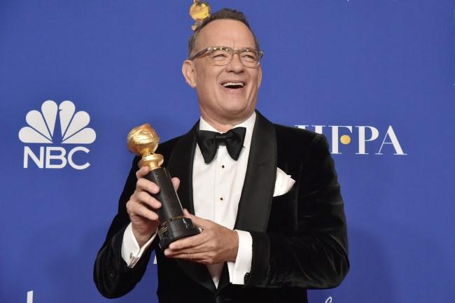 Tom Hanks memes Golden Golbes