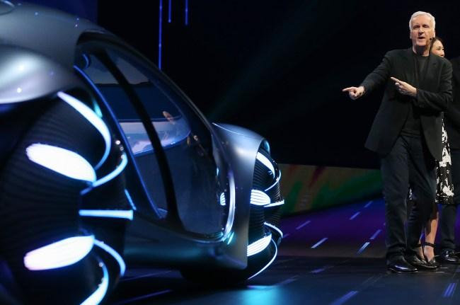 James Cameron Avatar Mercedes Benz