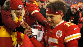 Mic'd Up Footage Reveals An Inspiring Patrick Mahomes Getting His Teammates Jacked Up When They Were Down 24 Points