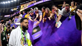 Odell Beckham Jr. Seen Passing Out Cash To LSU Players After The National Championship Game (Updated)