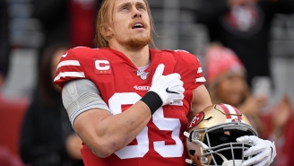Niners' George Kittle Gifts Super Bowl Tickets To Family Members Of Soldier Killed In Iraq