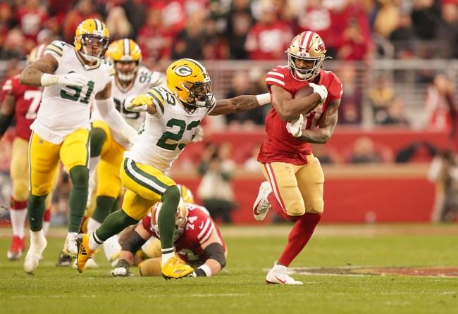 Raheem Mostert running back San Franciso 49ers