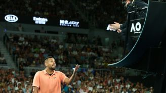 Nick Kyrgios Blasts Australian Open Chair Umpire, And Rightly So, For Being Called For Time Violation After His Hand Started Bleeding