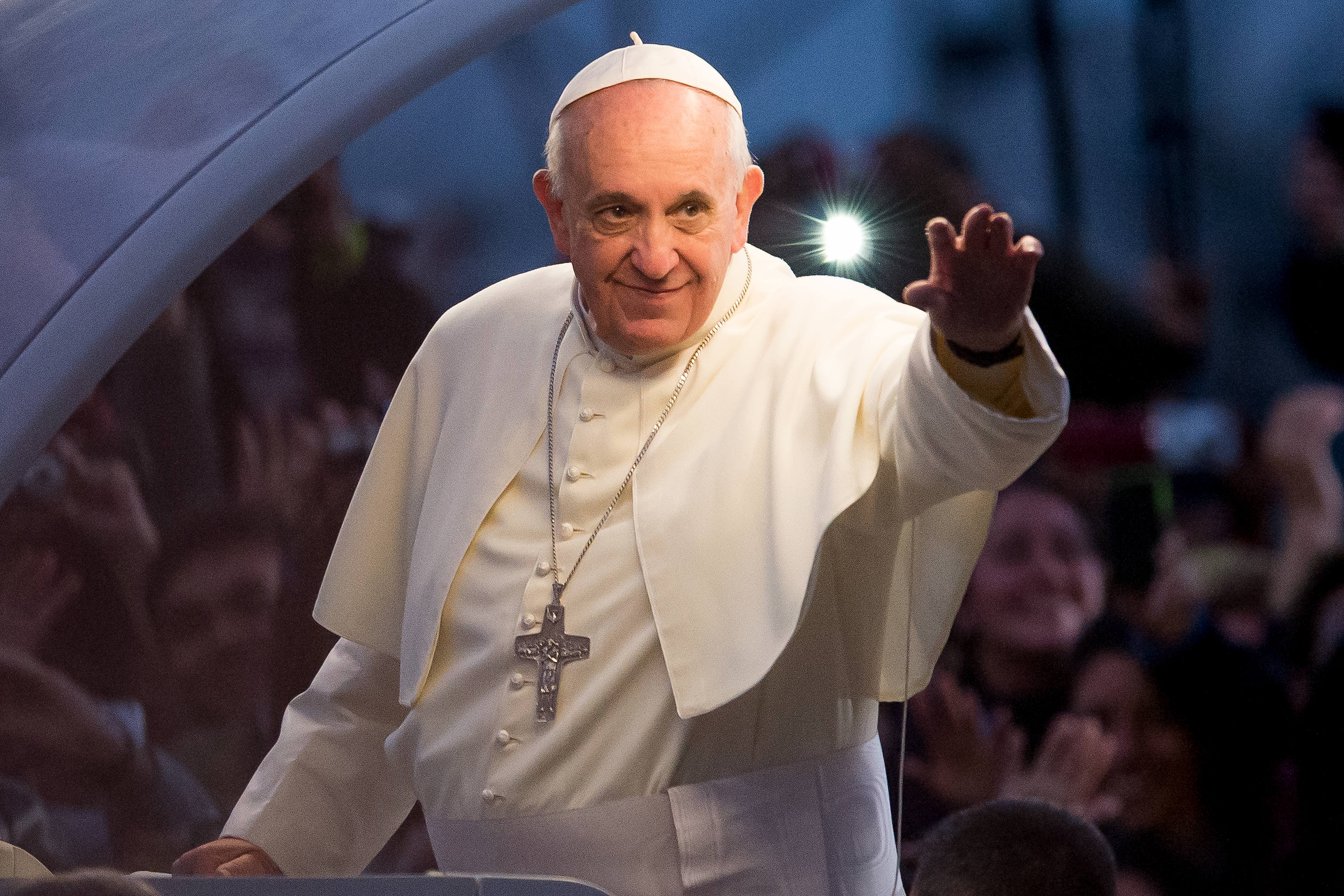 The Pope's Instagram account liked a Brazilian model's racy photo