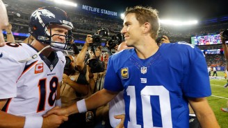 Peyton Manning Describes Why Eli Manning, His 'Third Favorite' QB, Is A Hall Of Fame Lock
