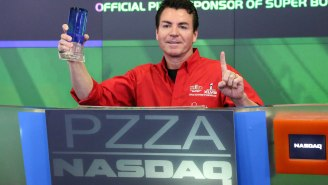 Papa John Is Threatening To Eat 50 Pizzas In 30 Days  As A New Year's Resolution And Peyton Manning Is Nowhere To Be Found