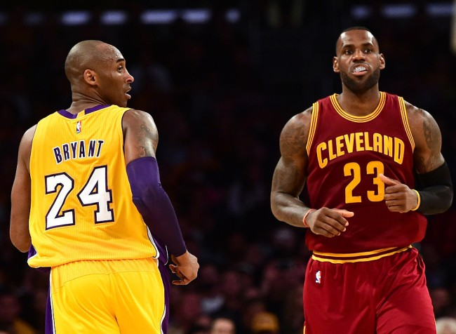 LeBron James wore sneakers dedicated to Kobe Bryant a day before his death that had a personal message to 'Black Mamba'
