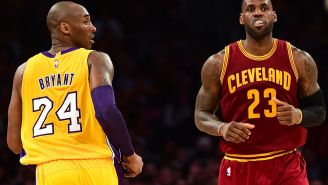 Day Before Kobe Bryant's Death, LeBron Wore Sneakers With A Personal Message To 'Black Mamba'