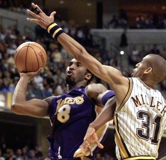 Reggie Miller tells the story of how a 17-year-old Kobe Bryant idolized Michael Jordan so much that he wanted his own nickname to be Caramel Cat.