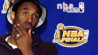 The Reason Kobe Bryant Was Crying Tears Of Sadness Immediately After Winning The 2001 NBA Championship